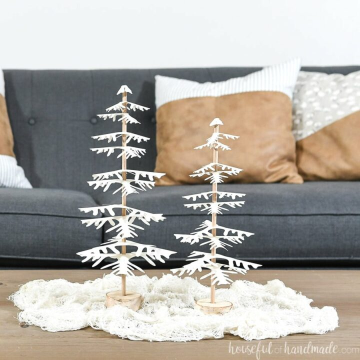How to Make Decorative Paper Christmas Trees