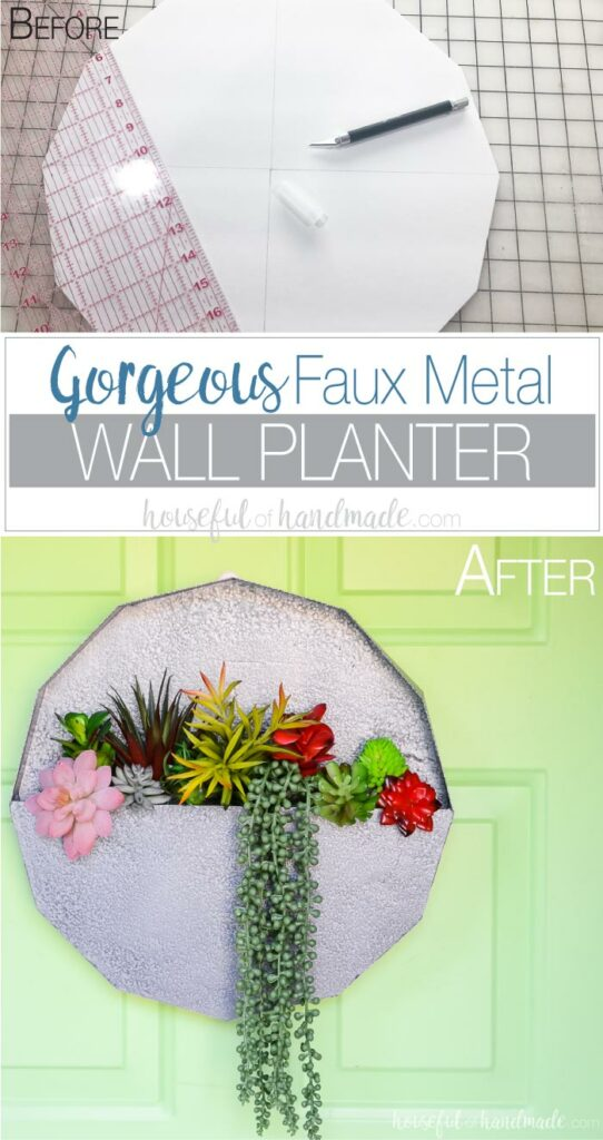 succulent wall planter set of 2 images pin