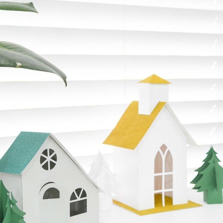putz paper houses